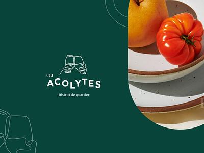 Branding • Les acolytes branding icon ui logo illustration