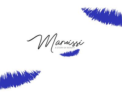 M a r n i s s i vector typography web logo illustration beauty branding design