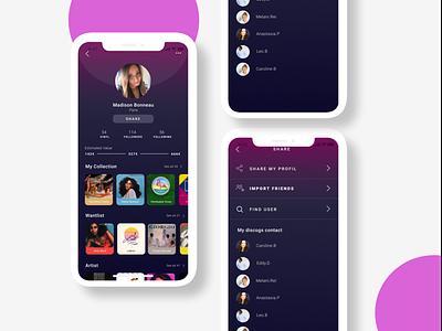 Rebrand • Discogs App minimal vinyl music flat design app ux app web branding ui discogs design