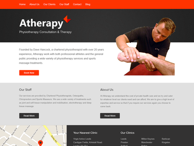 Atherapy Website