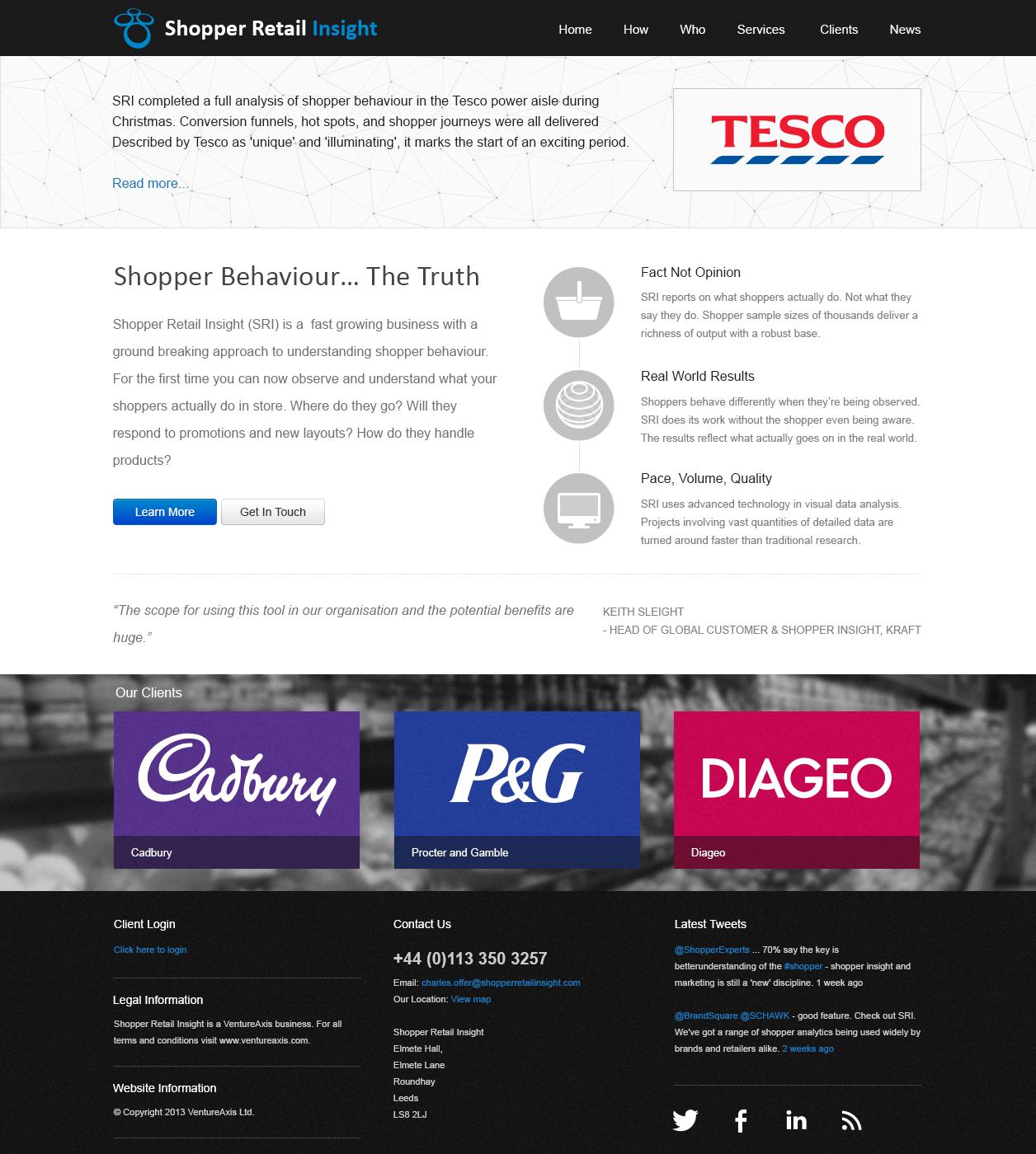 Sri homepage