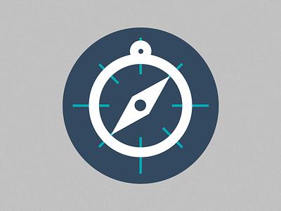 PAX & Route Icon branding graphic design icons icon pax route compass graph design flat