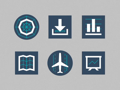 Icon Set 2 branding graphic design icons icon graph design flat