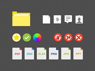 Insight Icons doc folder icon graphic design design branding flat icons