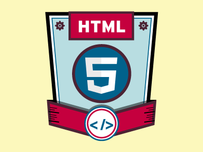 HTML 5 Skills Badge Icon html 5 skills icon badge