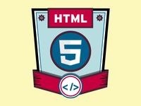HTML 5 Skills Badge Icon