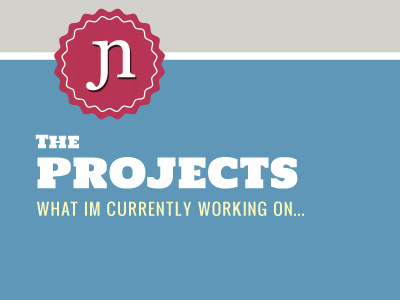 Peak at Projects Page wip webdesign colour