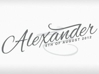 Xander script thank you alexander grey