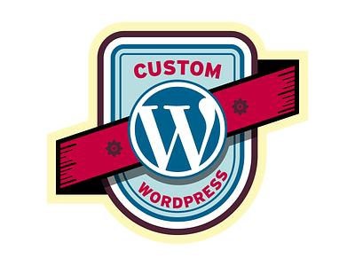 Wordpress Badge (WIP) badge wordpress