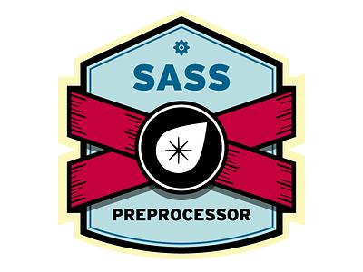 Sass Preprocessor Badge (WIP) sass compass badge preprocessor
