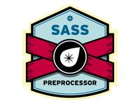 Sass Preprocessor Badge (WIP)