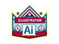 Illustrator Badge