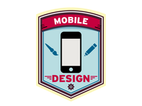 Mobile Design Badge