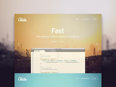 Glide.js – Simple, Lightweight & Fast jQuery development webdesign landing website slider jquery