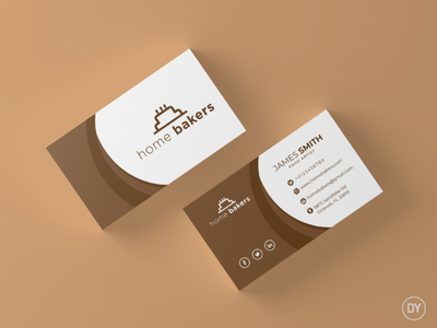 Business Card design professional card professional business card branding professional bakery