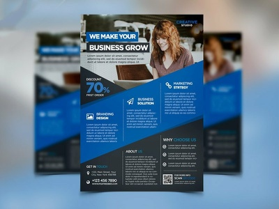 I Will A Professional Flyers And Brochure Design In 24 Hours photoshop editing banner ads social media design book  album covers flyers  brochures business cards logo design graphics  design