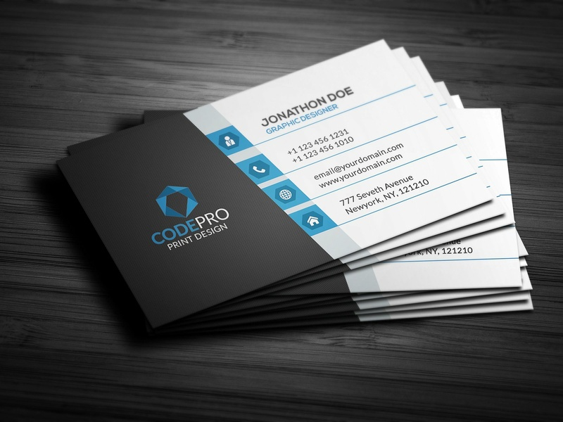 Create A Professional Highest Quality Business Card Design By Moon