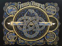 Greensky Bluegrass NYE poster