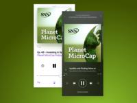 Planet MicroCap Podcast Branding