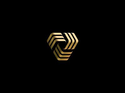Voxel 3d printing. box face line 3d voxel letter v sign mark logotype logo