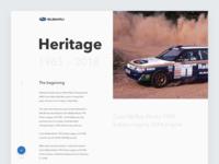 Subaru Impreza Heritage