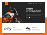 KTM product page