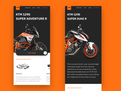 Ktm Mobile Page
