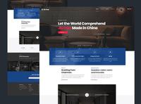 Web Redesign Proposal for Jiu Hua Group II