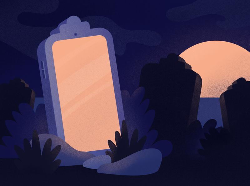 Everyone saying tablets are dead should take a chill pill design blog vector illustrator illustration procreateapp procreate