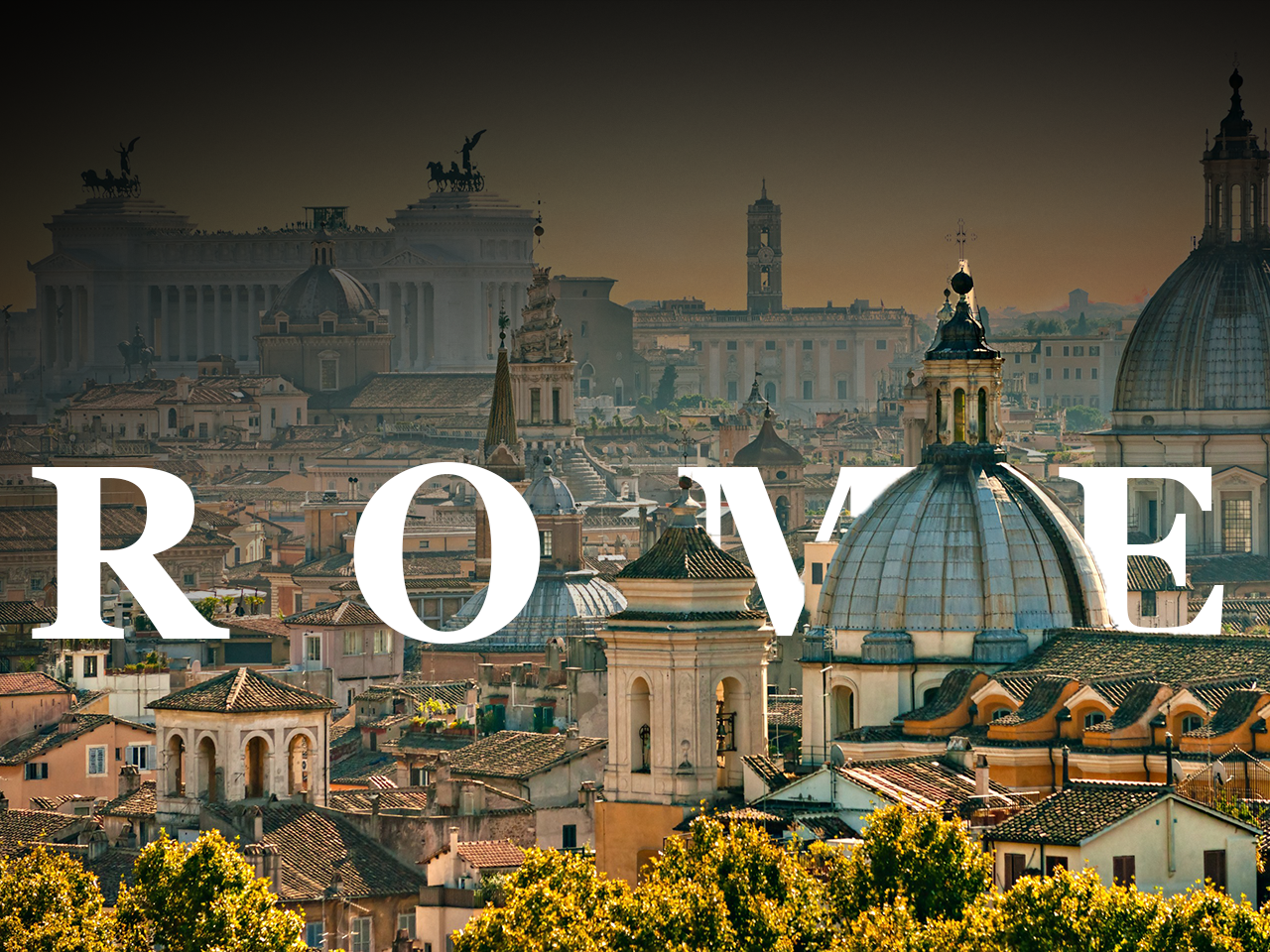 Rome [Concept] gradient black trip concept rome photoshop ui logo design
