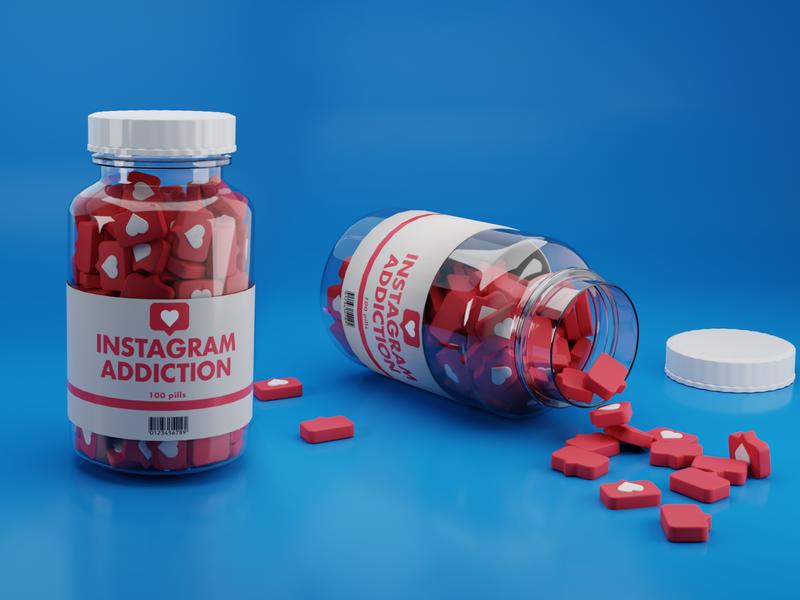 pills pills b3d visual art visualart medicine instagram render blender3d blender 3d colors design