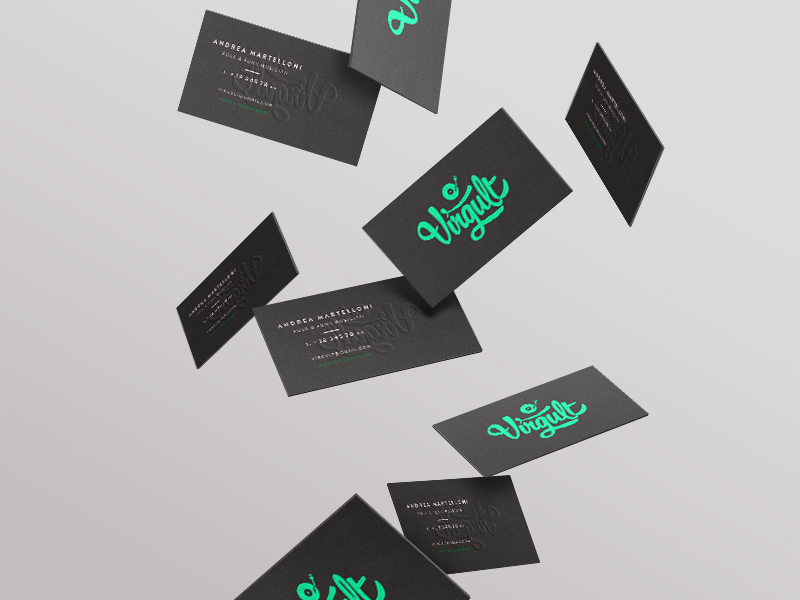 Virgult business card