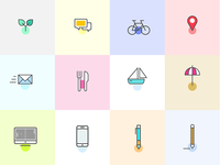 Icons for CV and Cover Letter