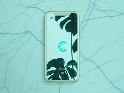 Celdarin app logotype monogram ui letter design graphic concept app identity mark logo
