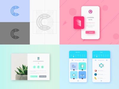 2018 top2018 2018 trends 2018 app concept identity mark logo
