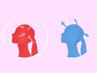 Icons, mind