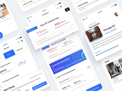 Financial Details Page