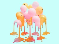 Melting Balloons