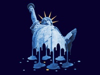 Melting Liberty