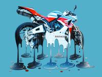 Melting Honda