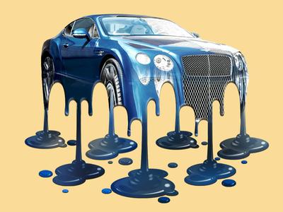 Melting Bentley
