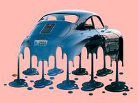 Melting Classic Porsche