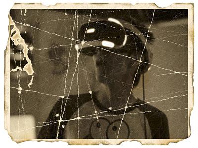 Damaged photo: Virtual reality