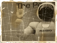 Damaged photo: Asimo