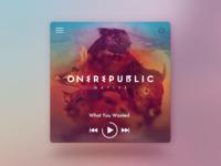 Desktop Music Concept