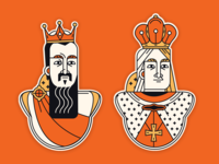 Stickers of commanders