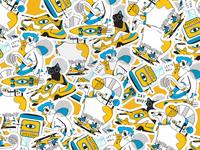 URB4N stickers
