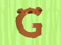 G is for Grizzly