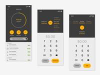Banking App - Savings Interface