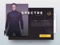 Movie dashboard - Spectre